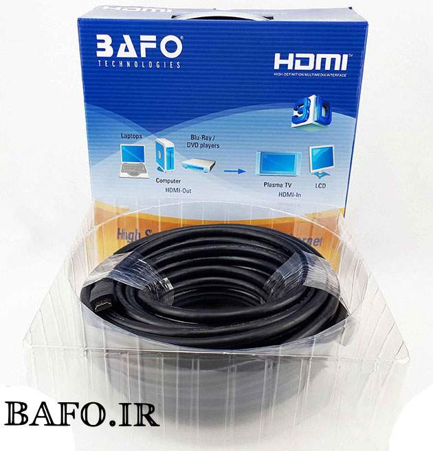 Bafo-HDMI-Cable-20m قیمت کابل
